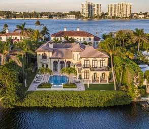 Palm Beach Island Mansions
